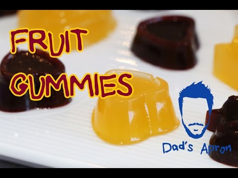 Fruit Gummies - How To Make - Dad's Apron