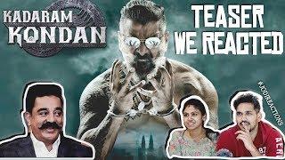 Kadaram Kondan Teaser Reaction | Kamal Haasan | Chiyaan Vikram | Jodi Reactions (Tamil) [2019]