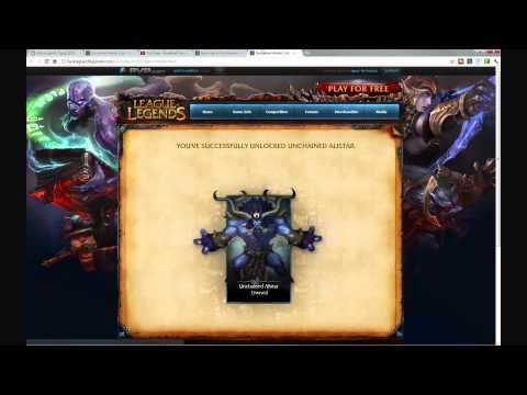 How to unlock Unchaind Alistar Skin (League of Legends)