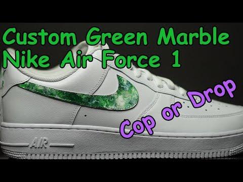Custom Marble Nike Air Force 1 - Cop or Drop