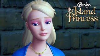 Ро плывет домой. Мультик Барби принцесса острова.