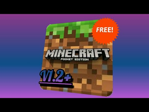 How to get MCPE v1.2+ for FREE!!!