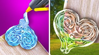3D PEN VS GLUE GUN    Cool Bright Crafts for Your Inspiration