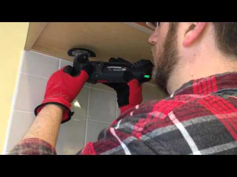 How To Cut Off the Bottom of a Kitchen Cabinet (Without Removing It)