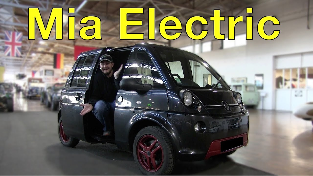 The Mia Electric is the Central Driver's Seat City Car You Didn't Know You Wanted