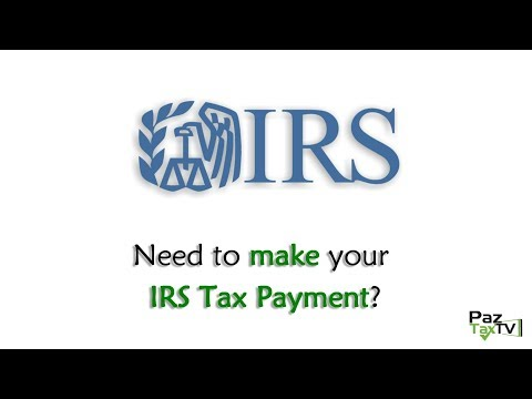 Making Tax Payments with IRS Direct Pay