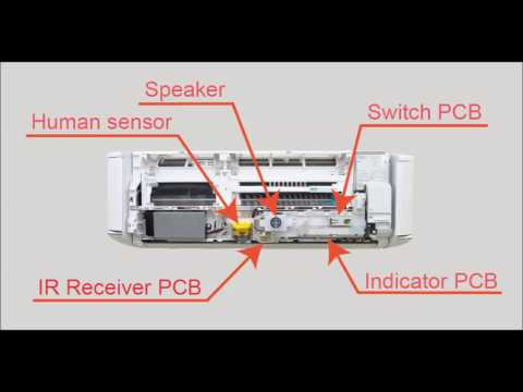 Fujitsu General Service Instruction Video for ASYG09KXCA