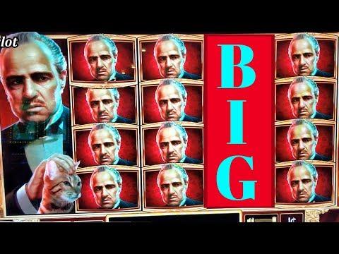 ★NEW SLOT★ The Godfather Slot Machine Max Bet Bonus ★BIG WIN★ |  FIRST ATTEMPT | Live Slot Play