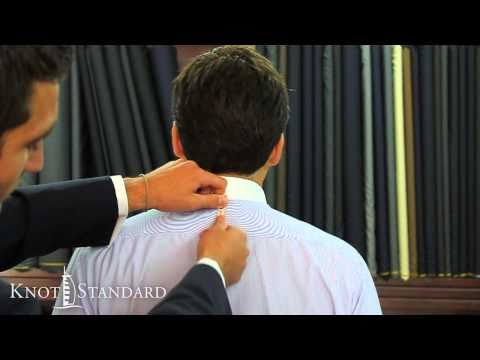 How To Measure Your Suit - Back Length of the Jacket
