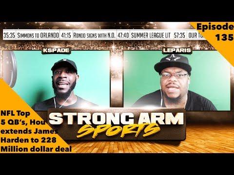 Strong Arm Sports Epi 135 | Leparis Says Big Ben Isn't Top 5 QB in the League