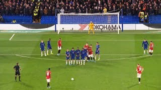 Top 10 Incredible Free Kick Goals Of The Year