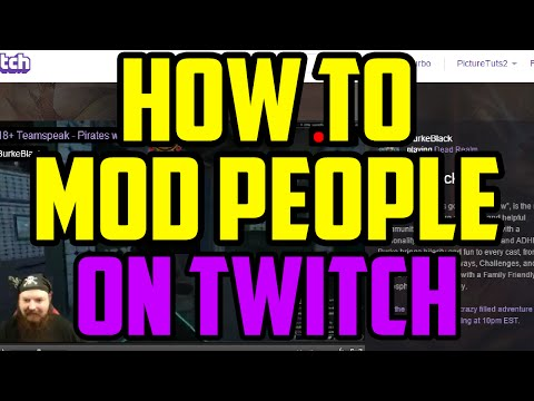 Twitch - How To Mod Someone On Twitch 2017 (QUICK & EASY) - Twitch Make People Moderator Guide