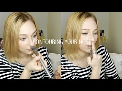 HOW TO CONTOUR NOSE: SLIMMER, SHORTER, LESS PROMINENT