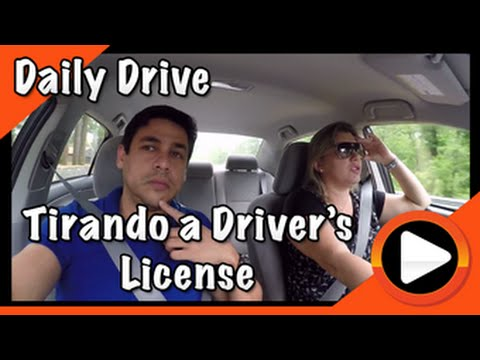 Tirando a Driver's License - Db in USA #51