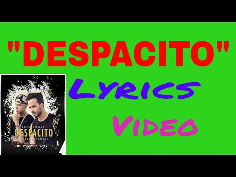 Learn and Sing Despacito song easily in Nepali / Hindi font