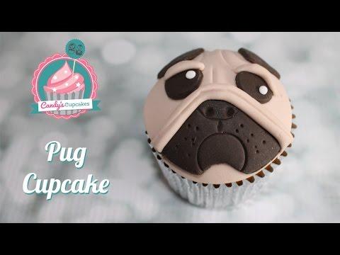 How to make a Pug Cupcake - Cupcake Tutorial