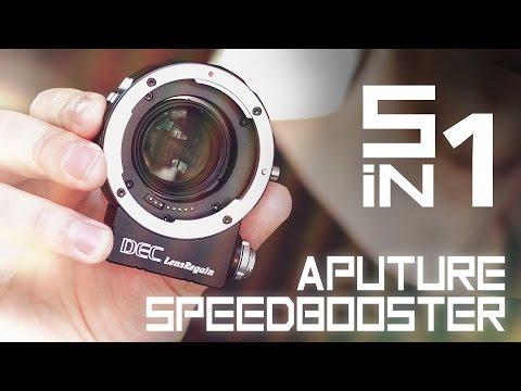 The genius speedbooster [Aputure DEC LensRegain]