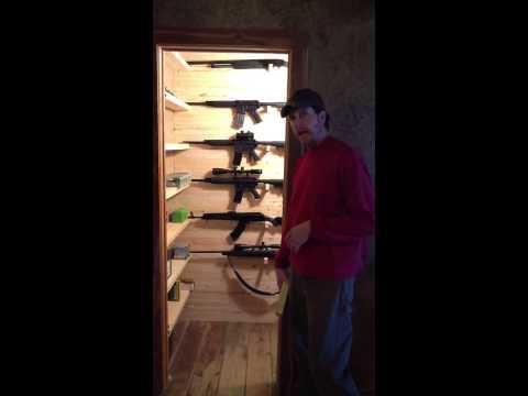 Build a Custom Gun Closet. Part 3