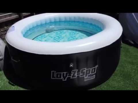 What chemicals should I use in my spa or pool (Lay-Z Spa - Bestway) Portable Hot tub Review