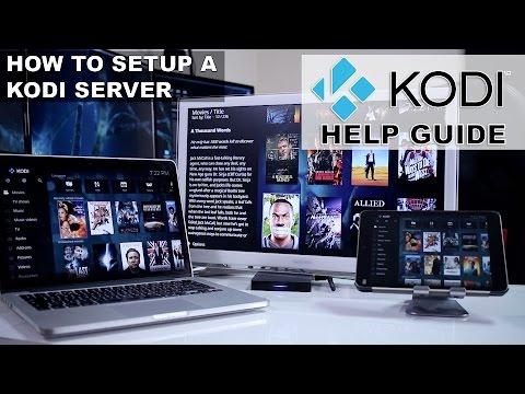 How to SETUP a KODI SERVER on a Android TV Box?