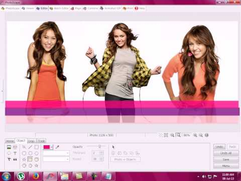 How To Make Facebook Collage Cover Using Photoscape