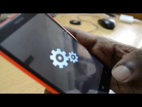 How to reset Nokia Lumia 625 to Factory Settings