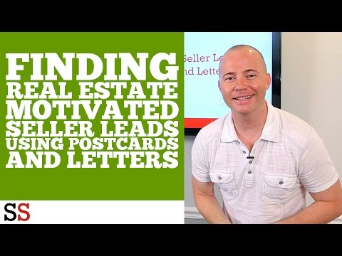 Finding Real Estate Motivated Seller Leads Using Postcards and Letters