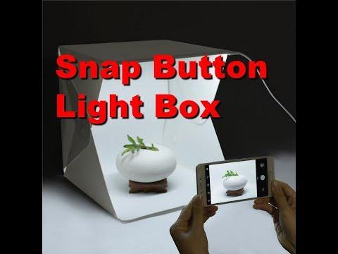 2018 Snap Button Mini Portable Photography Studio Light Tent