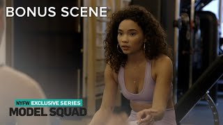 Ashley Moore Meets a Fellow Model at the Gym   Model Squad   E!
