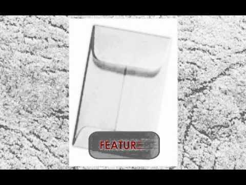 Coin Envelopes #1 White 2 1/4 x 3 1/2 - Cargus