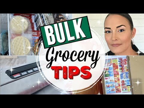 BULK GROCERY SHOPPING TIPS ● HOW TO BUY IN BULK AND SAVE MONEY ● ZAYCON FRESH CHICKEN BREASTS