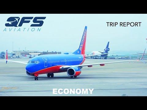 TRIP REPORT   Southwest Airlines - 737 - Sacramento (SMF) to San Diego (SAN)   Economy