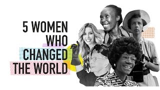 5 Women Who Changed the World Outside of Their Day Jobs