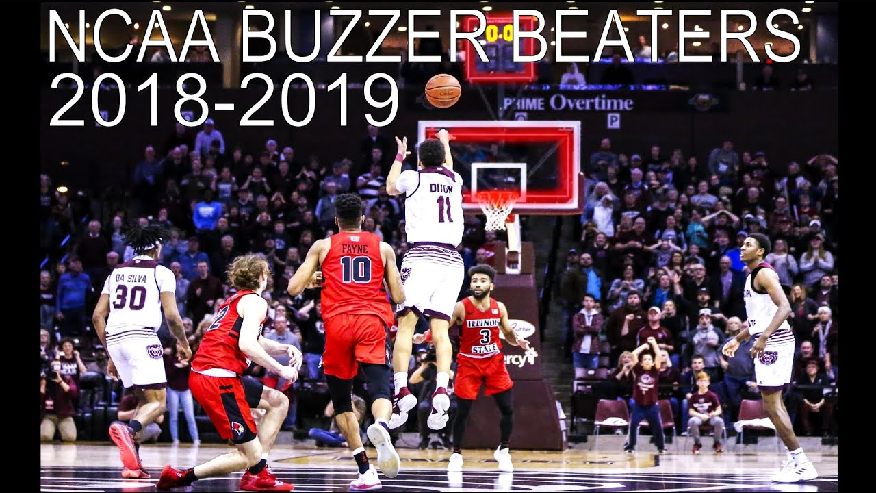 College Basketball Buzzer Beaters (2018-2019)