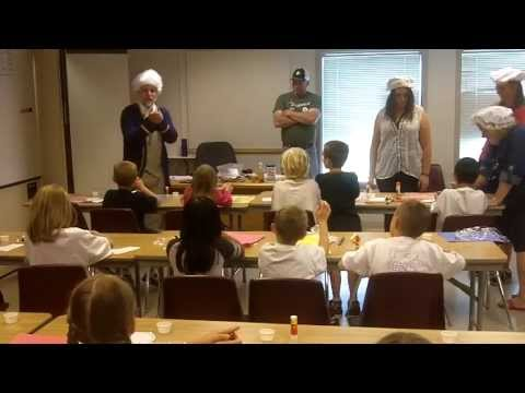 Patriot Camp- Soap making in Colonial Times