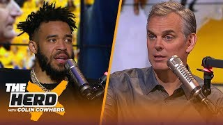 JaVale McGee talks Warriors' culture, Draymond's dominance & LeBron | NBA | THE HERD