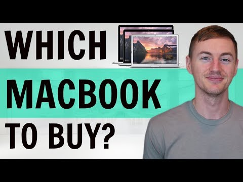 Which Mac to Buy in 2018? MacBook vs Air vs Pro!