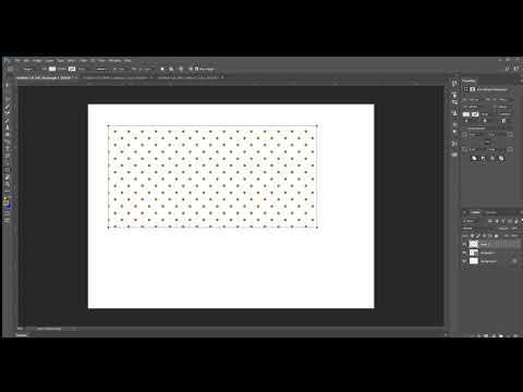 Photoshop Polka Dot Pattern Tutorial