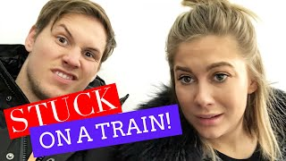 STUCK FOR 7 HOURS ON A TRAIN! | Shawn + Andrew
