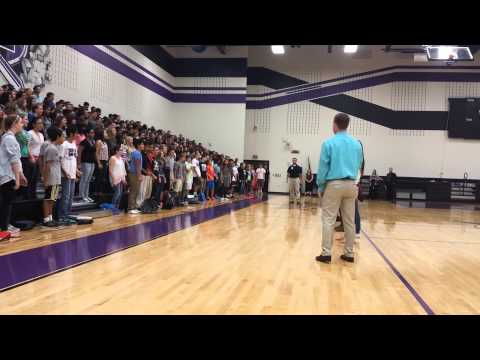 Freshman Yell Practice