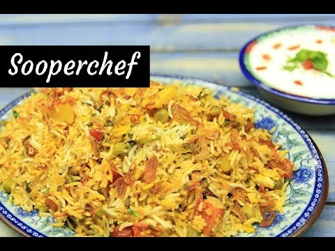 Vegetable Biryani Recipe - SooperChef