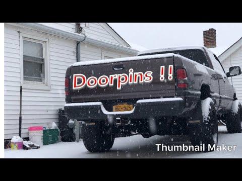 1997 Dodge Ram door pins