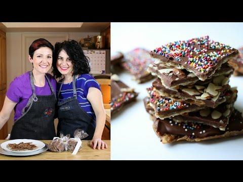 Toffee Matzah - Passover Dessert Recipe