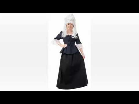 Historical Halloween Costumes 1830s To 1850's Period Clothing Abigail Adams   Betsy Ross Vintage Vic