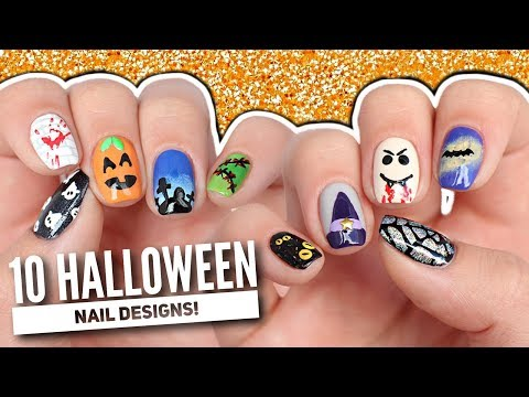 10 Halloween Nail Art Designs: The Ultimate Guide 2017!