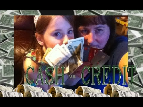 MONEY: Credit vs Cash
