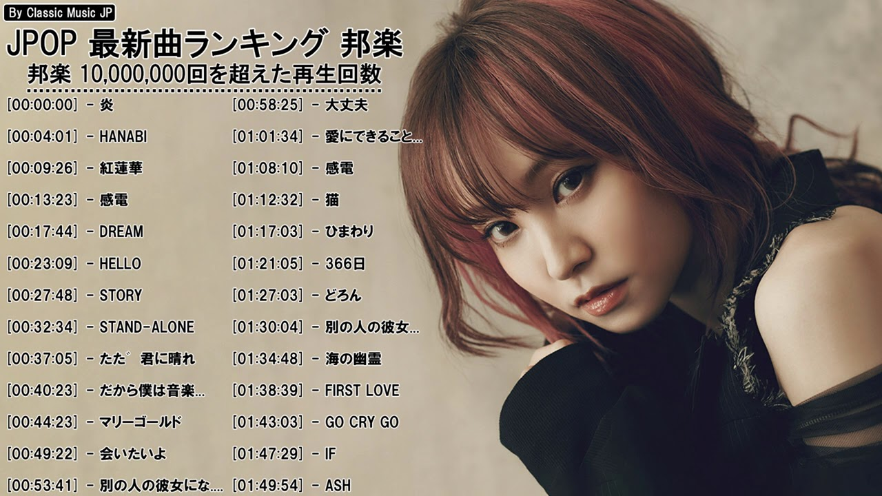 J-POP メドレー 最新 2021 名曲。 2020~2021年ヒット曲 名曲 邦楽。10,000,000回を超えた再生回数 ランキング 名曲 メドレ (8)
