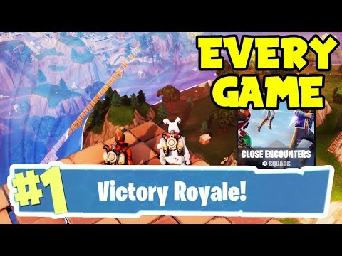My SECRET Tips On WINNING EVERY Close Encounter LTM Game! -Win Every Game- (Fortnite Battle Royale)