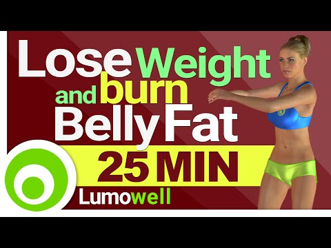 25 Minute Standing Cardio To Lose Weight and Burn Belly Fat