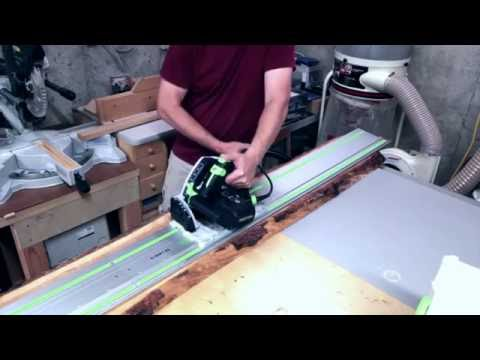 How to Make Rough Cut Lumber Usable Part 1